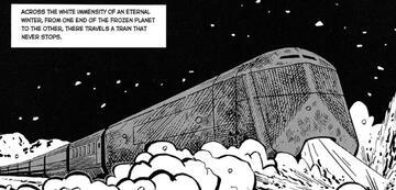 Graphic Novel Snowpiercer (auf Deutsch: Schneekreuzer)