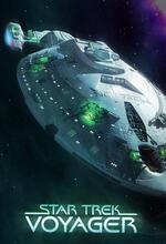Star Trek: Raumschiff Voyager Poster