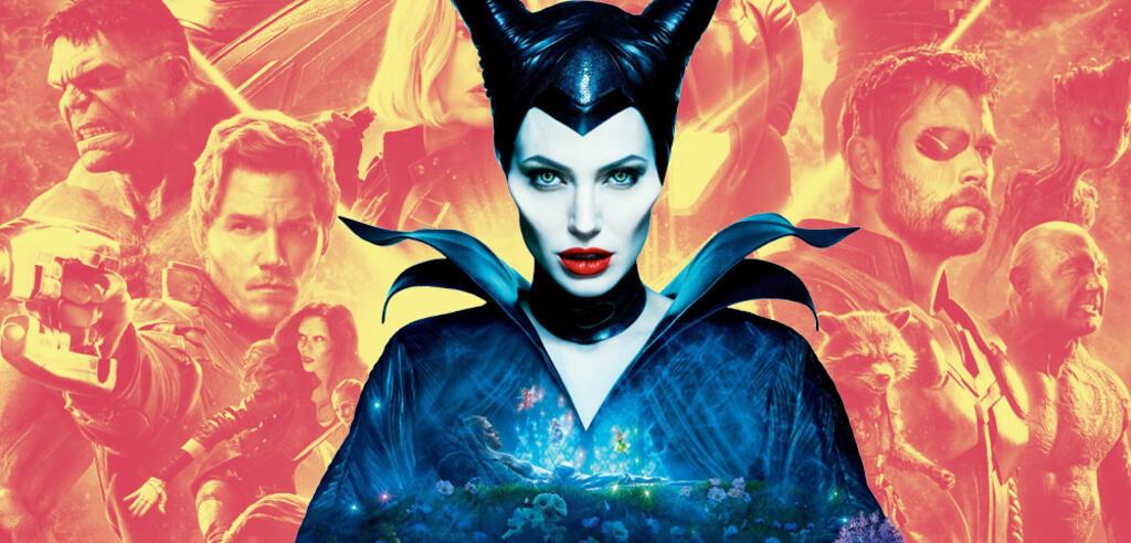 Angelina Jolie alsMaleficent und die Avengers