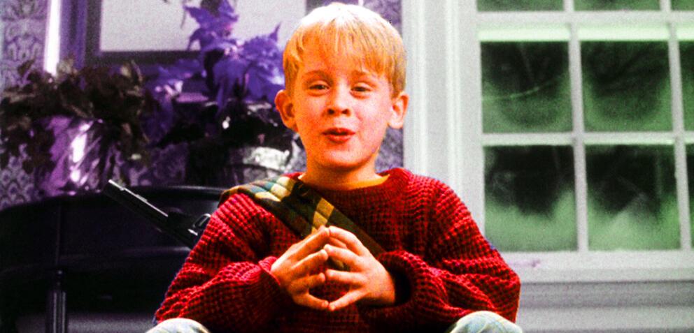 Macaulay Culkin in Kevin - Allein zu Haus