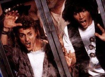 Bill & Ted's verrückte Reise durch die Zeit mit Keanu Reeves