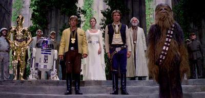 Star Wars: Medaille, Medaille, keine Medaille