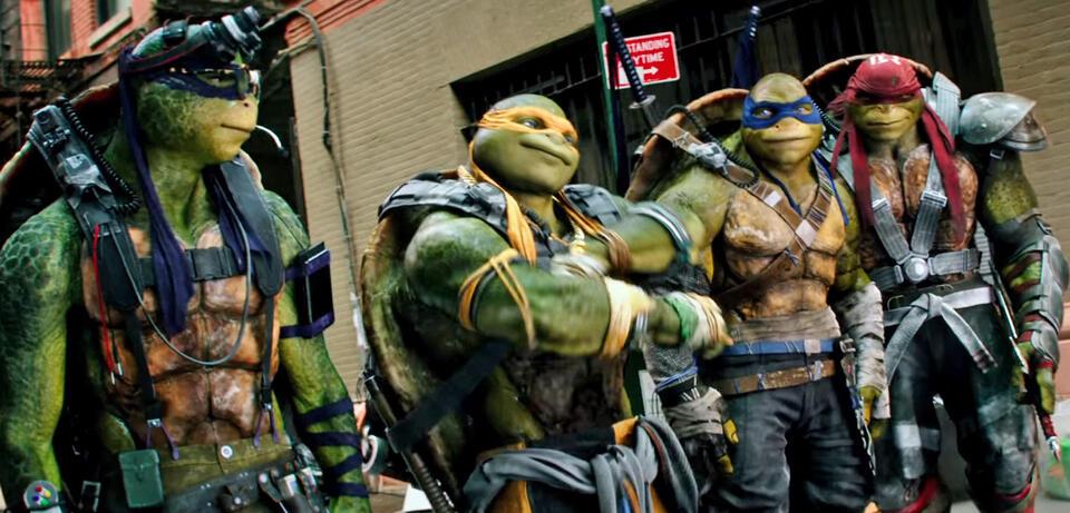 ninja turtles 2 kino