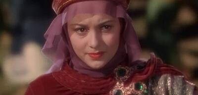 Olivia de Havilland in Die Abenteuer des Robin Hood