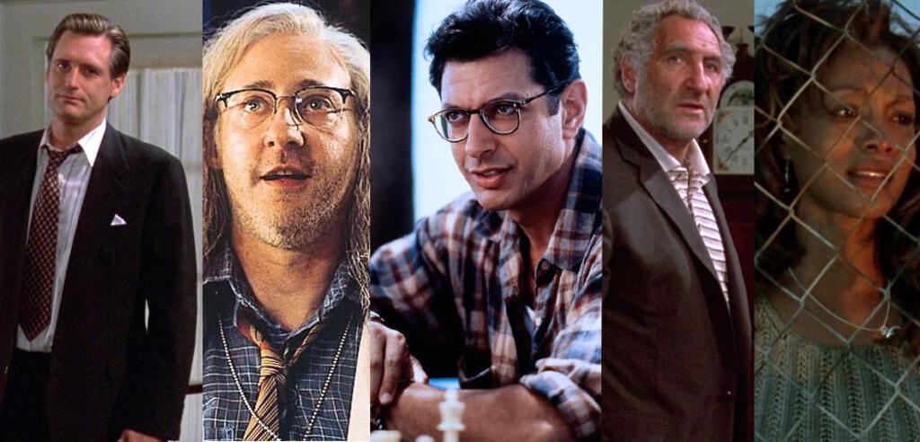 Bill Pullman, Brent Spiner, Jeff Goldblum, Judd Hirsch und Vivica A. Fox in Independence Day