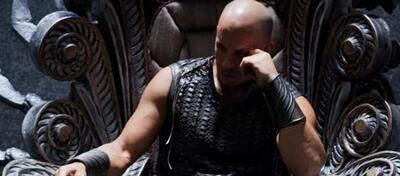 Riddick auf dem Thron der Furyaner