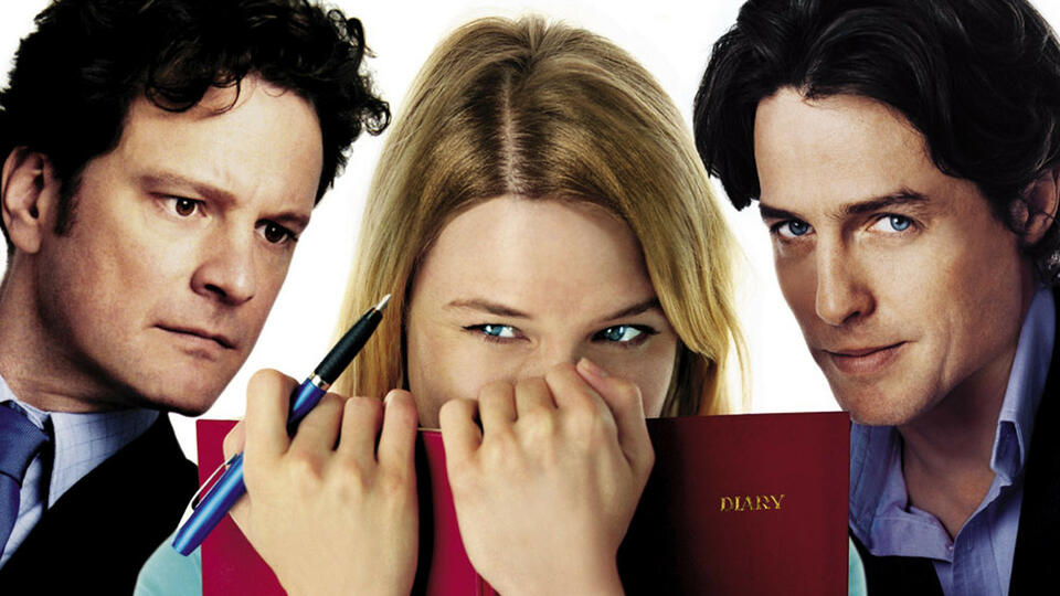 Colin Firth, Renée Zellweger & Hugh Grant in Bridget Jones' Diary