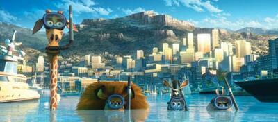 Kein Grund abzutauchen: Madagascar 3 hält sich an der Spitze der Kinocharts