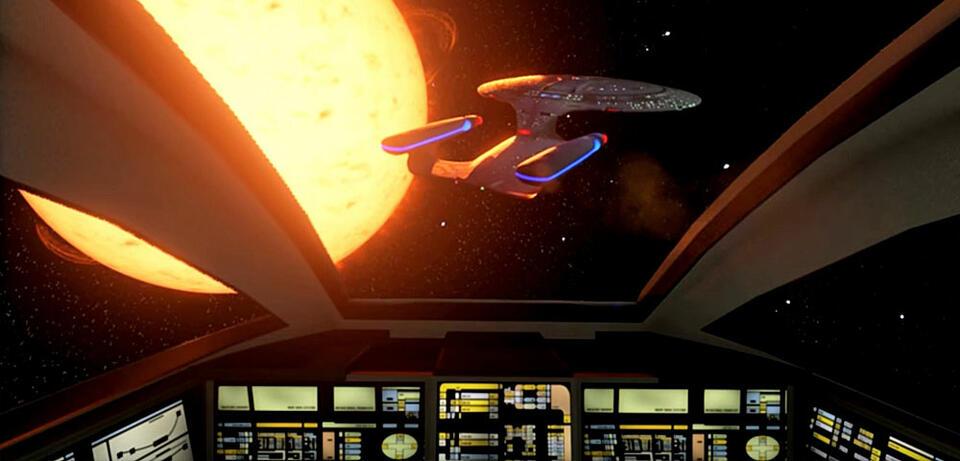 Anflug auf die Enterprise