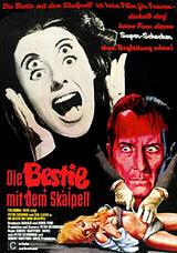 Die Bestie mit dem Skalpell - Poster