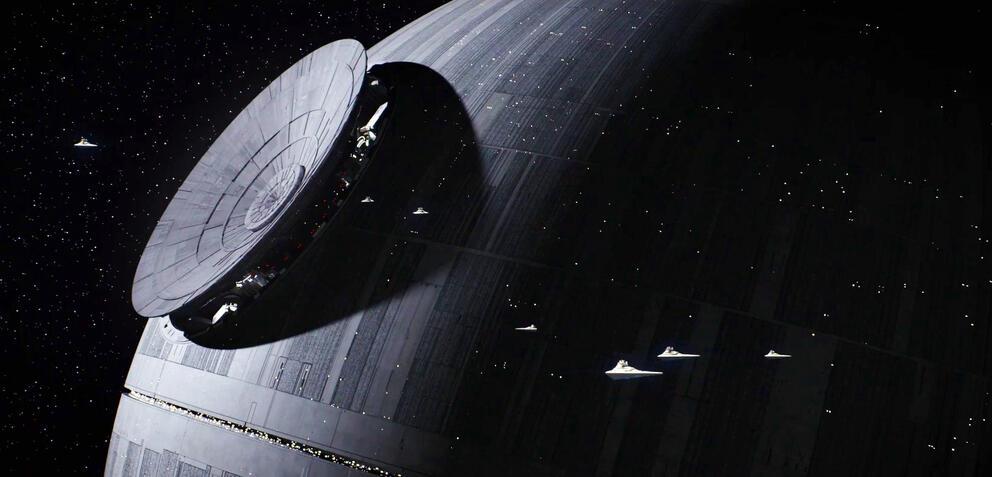 Der Todesstern in Star Wars: Rogue One