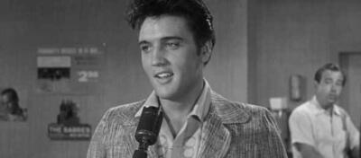 Elvis in Jailhouse Rock