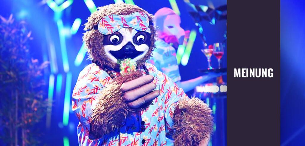 The Masked Singer: Tom Beck ist das Faultier