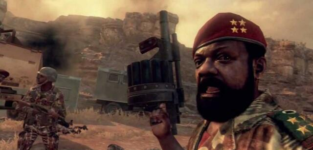 Jonas Savimbi in Call of Duty: Black Ops 2