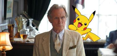 Bill Nighy und Pikachu