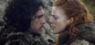 Game of Thrones: Kit Harington und Rose Leslie alsJon Snow und Ygritte
