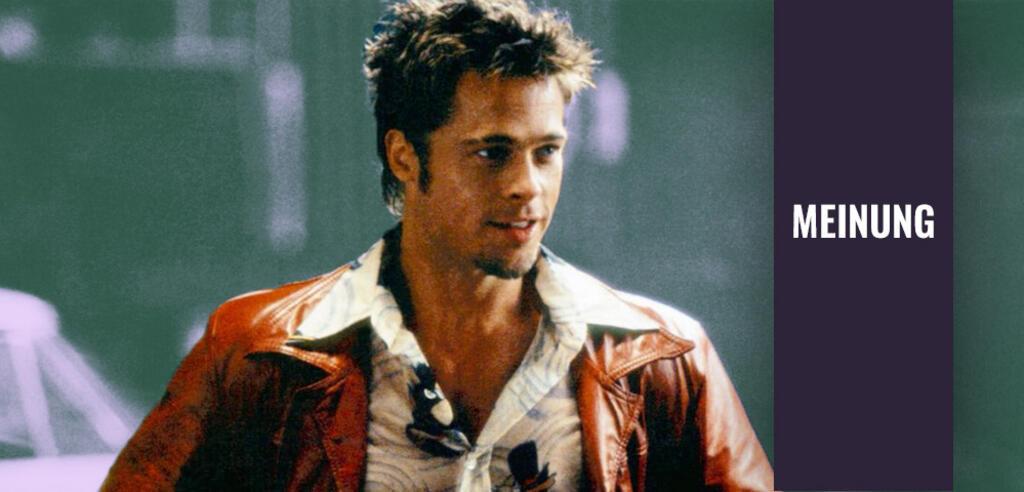 Brad Pitt als Tyler Durden in Fight Club