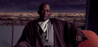Samuel L. Jackson inStar Wars