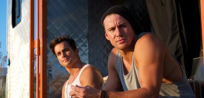 Matt Bomer und Channing Tatum in Magic Mike XXL