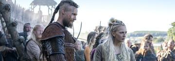 Ubbe und Torvi aus Vikings