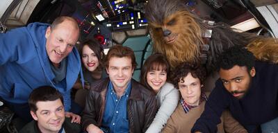 Die Crew des Han Solo Anthology Films versammelt