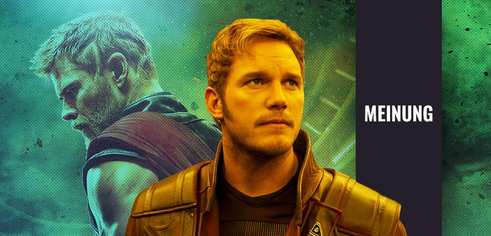 Thor (Chris Hemsworth) und Star-Lord (Chris Pratt)