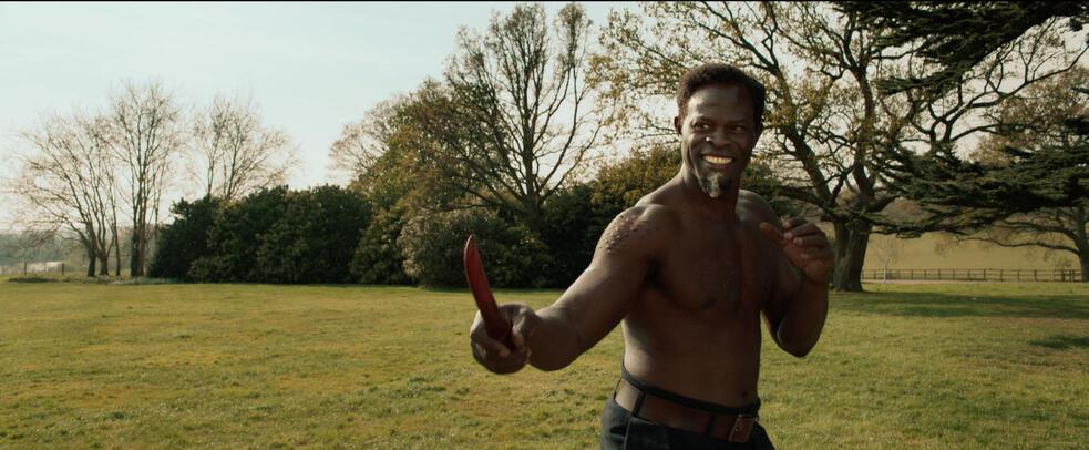 The King's Man mit Djimon Hounsou