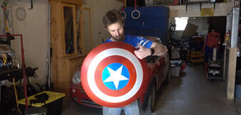 Make It Real: Captain America Electromagnet Shield