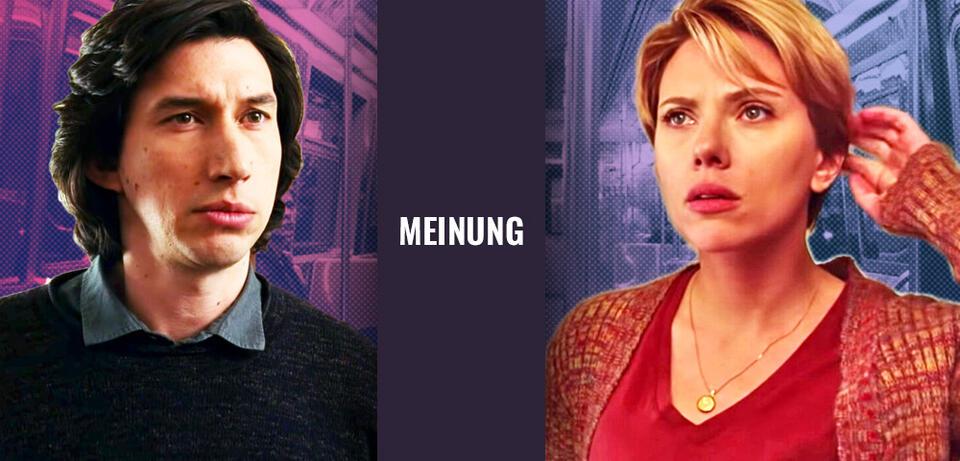 Marriage Story mit Adam Driver und Scarlett Johansson