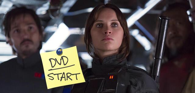 Rogue One mit Felicity Jonesjetzt auf DVD und Blu-ray
