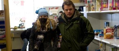Auch Matt Damon muss sich in Contagion vor tödlichen Keimen schützen