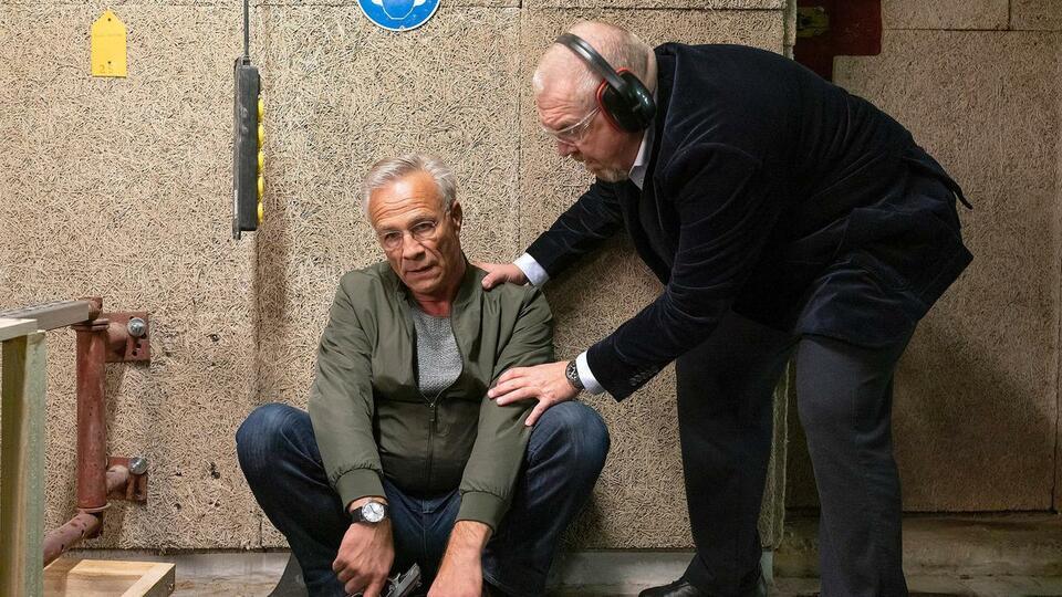 Tatort: Gefangen mit Dietmar Bär und Klaus J. Behrendt
