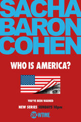 Who Is America? - Staffel 1 - Poster