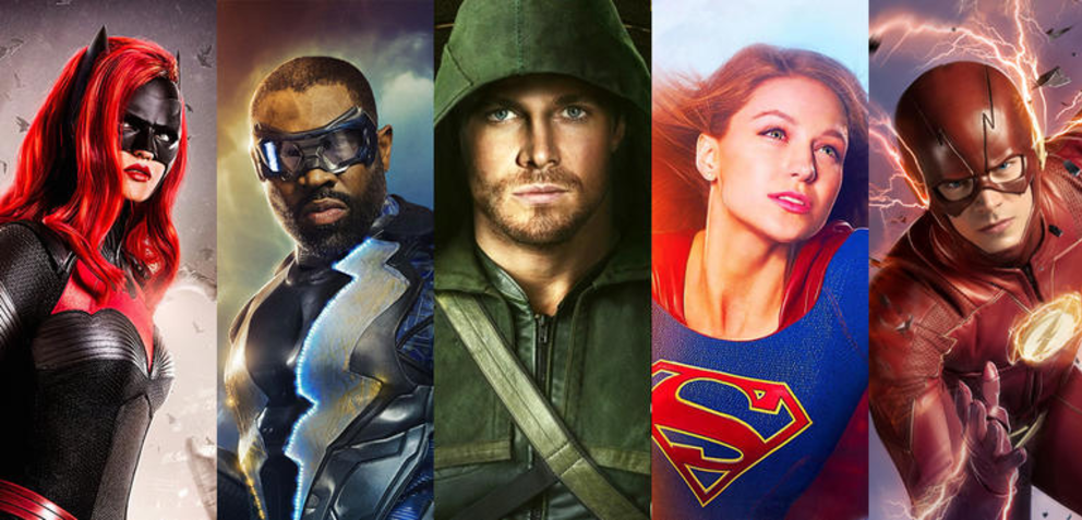 Arrow, Flash, Supergirl, Legends of Tomorrow, Black Lightning