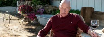 Star Trek: Picard hat eine Vorliebe für rote Kleidung