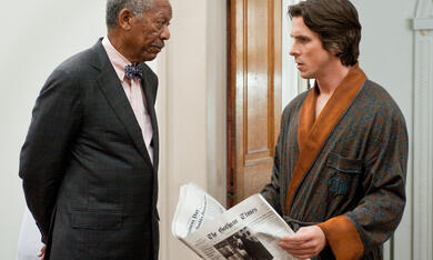 The Dark Knight Rises mit Christian Bale und Morgan Freeman - Bild 8