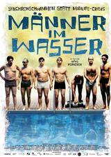 Männer im Wasser - Poster