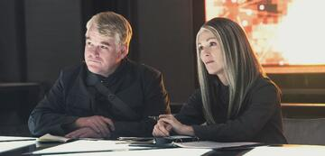 Philip Seymour Hoffman und Julianne Moore