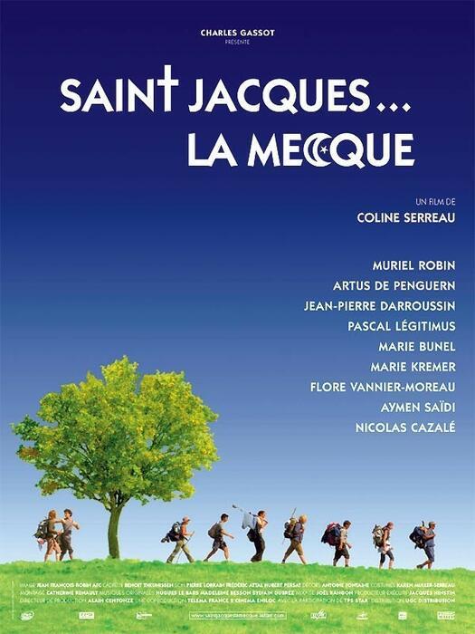 Saint Jacques Pilgern Auf Französisch