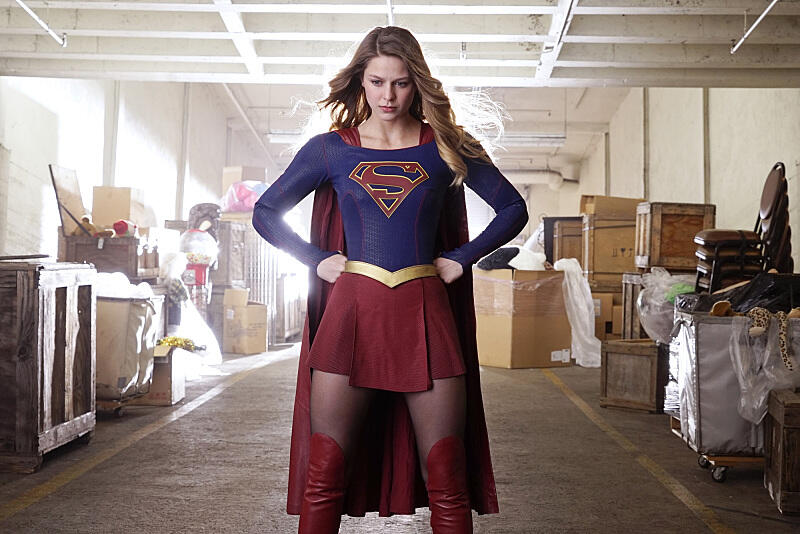 Supergirl mit Melissa Benoist