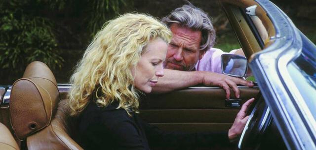 Kim Basinger und Jeff Bridges in The Door in the Floor - Die Tür der Versuchung
