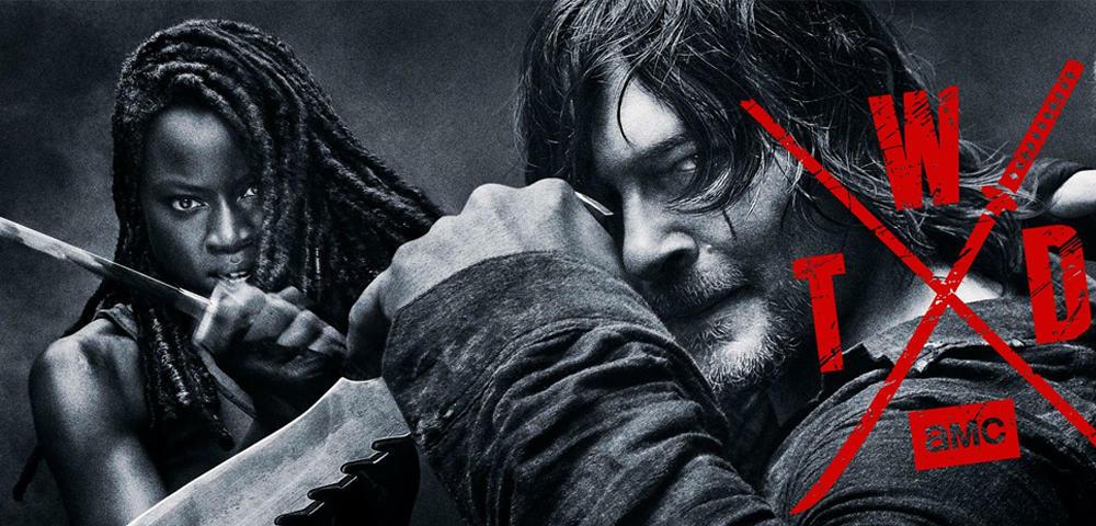 The Walking Dead - Neues Bild zeigt epischen Zombie-Kampf in Flammen