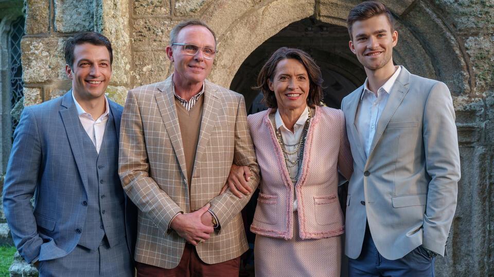 Rosamunde Pilcher - Schwiegertöchter mit Ulrike Folkerts, Patrick Mölleken, Dirk Martens und Max Hemmersdorfer