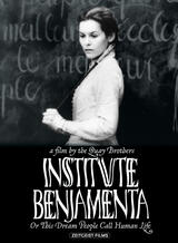 Institut Benjamenta oder Dieser Traum, den man menschliches Leben nennt - Poster