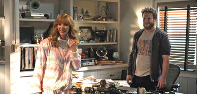 Lisa Kudrow und Seth Rogen in The Comeback