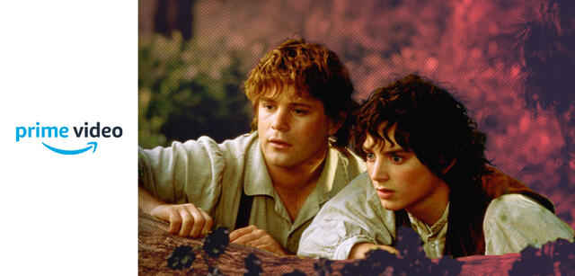 Frodo und Sam in Der Herr der Ringe: Die Gefährten