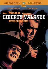 Der Mann, der Liberty Valance erschoß - Poster