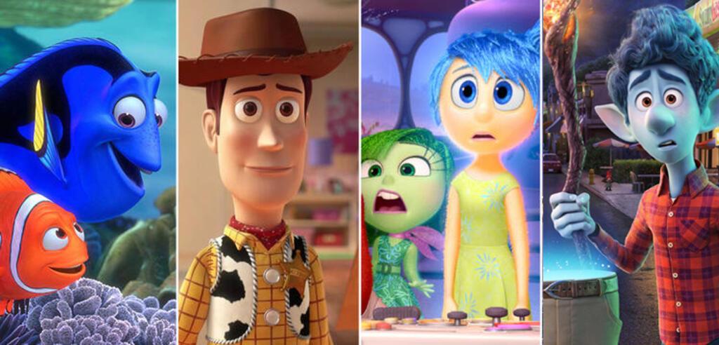 Pixar-Helden