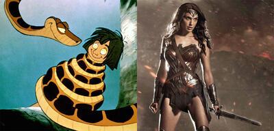 Das Dschungelbuch/Wonder Woman inBatman v Superman: Dawn of Justice