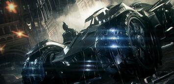 Bild zu:  Der Star aus Batman: Arkham Knight - das Batmobil